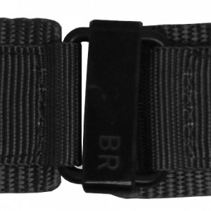 Bell & Ross 24mm Black Canvas Strap 24-6-BLKC-BV