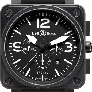Bell & Ross Aviation Instruments BR0194-BL-CA