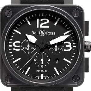 Bell & Ross Aviation Instruments BR0194-BL-SCA
