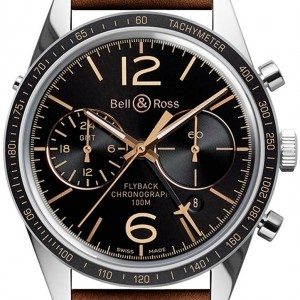 Bell & Ross Vintage BRV126-FLY-GMT/SCA