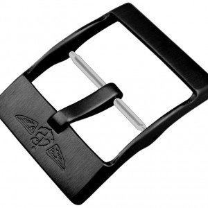 Breitling 20mm Black Steel Tang Buckle M20S