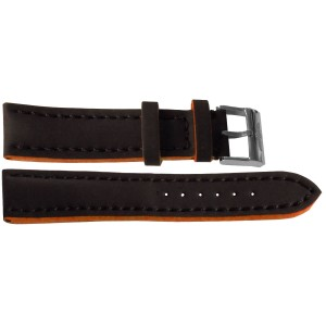 Breitling 20mm Black Leather Strap 244X