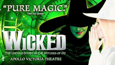Wicked at Apollo Victoria Theatre