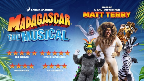 Madagascar The Musical at Regent Theatre