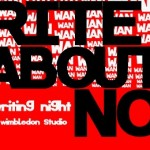 Write About Now at Studio at New Wimbledon Theatre