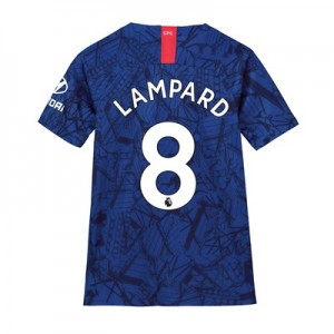 Chelsea Home Stadium Shirt 2019-20 - Kids with Lampard 8 printing