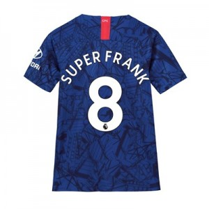 Chelsea Home Stadium Shirt 2019-20 - Kids with Super Frank 8 printing