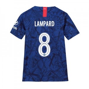 Chelsea Home Cup Stadium Shirt 2019-20 - Kids with Lampard 8 printing