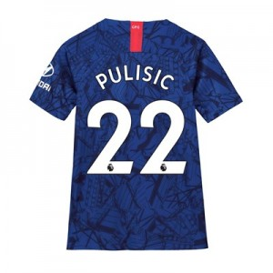 Chelsea Home Stadium Shirt 2019-20 - Kids with Pulisic 22 printing