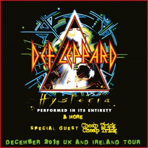 Def Leppard (Showcube) Ticket