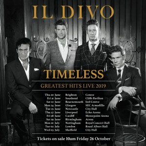 Il Divo (Show Deck) Ticket