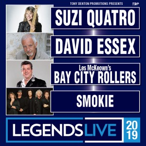 Legends Live 2019 (Block 3 & 4 Upper) Ticket