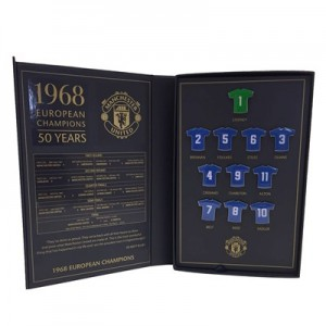 Manchester United 50th Anniversary Limited Edition Badge Set