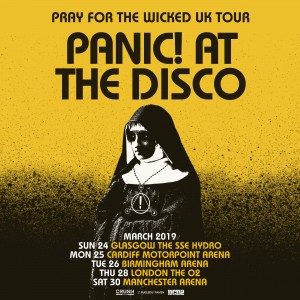 Panic! At The Disco (Showcube) Ticket
