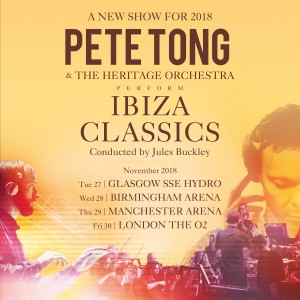 Pete Tong (Show Lounge) Ticket