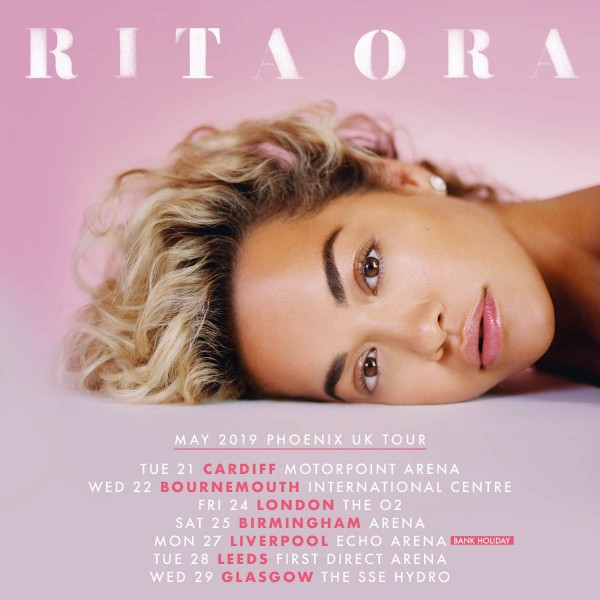 Rita Ora (Show Lounge) Ticket