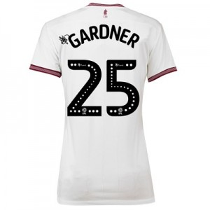 Aston Villa Away Shirt 2018-19 - Womens with Gardner 25 printing