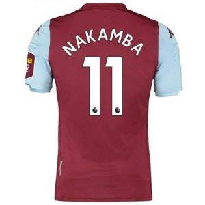 Aston Villa Home Elite Fit Shirt 2019-20 with Nakamba 11 printing