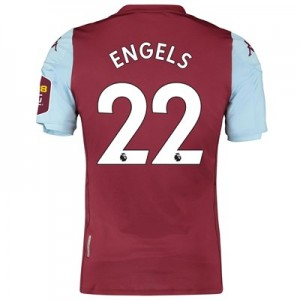 Aston Villa Home Elite Fit Shirt 2019-20 with Engels 22 printing