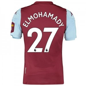 Aston Villa Home Elite Fit Shirt 2019-20 with Elmohamady 27 printing