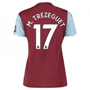 Aston Villa Home Shirt 2019-20 - Womens with M. Trezeguet 17 printing