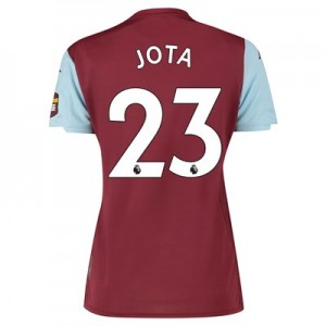 Aston Villa Home Shirt 2019-20 - Womens with Jota 23 printing