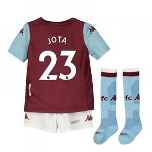 Aston Villa Home Minikit 2019-20 with Jota 23 printing