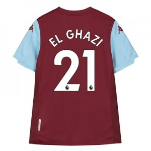 Aston Villa Home Shirt 2019-20 - Kids with El Ghazi 21 printing