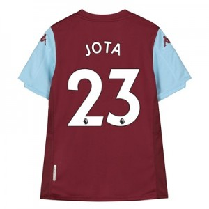 Aston Villa Home Shirt 2019-20 - Kids with Jota 23 printing