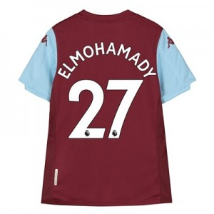 Aston Villa Home Shirt 2019-20 - Kids with Elmohamady 27 printing