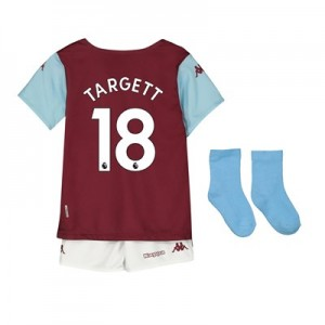 Aston Villa Home Babykit 2019-20 with Targett 18 printing