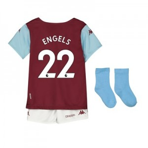 Aston Villa Home Babykit 2019-20 with Engels 22 printing