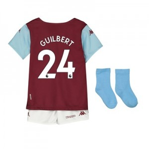 Aston Villa Home Babykit 2019-20 with Guilbert 24 printing
