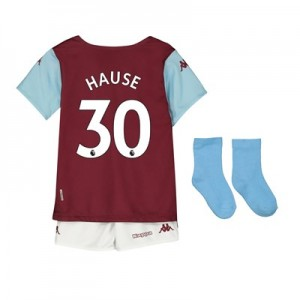Aston Villa Home Babykit 2019-20 with Hause 30 printing