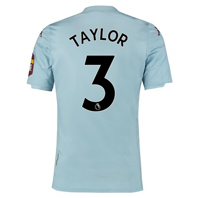 Aston Villa Away Elite Fit Shirt 2019-20 with Taylor 3 printing