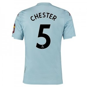Aston Villa Away Elite Fit Shirt 2019-20 with Chester 5 printing