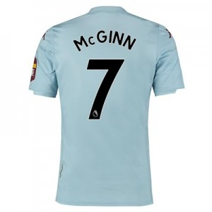 Aston Villa Away Elite Fit Shirt 2019-20 with McGinn 7 printing