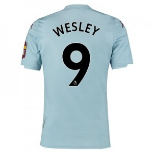 Aston Villa Away Elite Fit Shirt 2019-20 with Wesley 9 printing