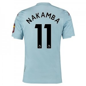 Aston Villa Away Elite Fit Shirt 2019-20 with Nakamba 11 printing