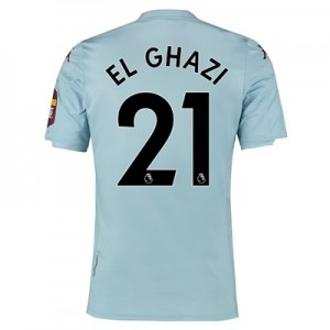 Aston Villa Away Elite Fit Shirt 2019-20 with El Ghazi 21 printing