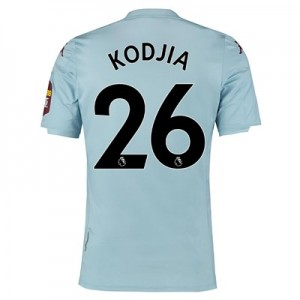 Aston Villa Away Elite Fit Shirt 2019-20 with Kodjia 26 printing