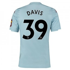 Aston Villa Away Elite Fit Shirt 2019-20 with Davis 39 printing