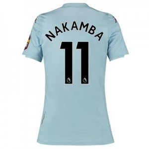 Aston Villa Away Shirt 2019-20 - Womens with Nakamba 11 printing