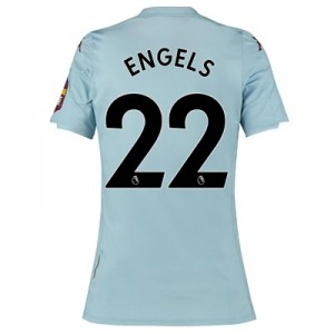 Aston Villa Away Shirt 2019-20 - Womens with Engels 22 printing