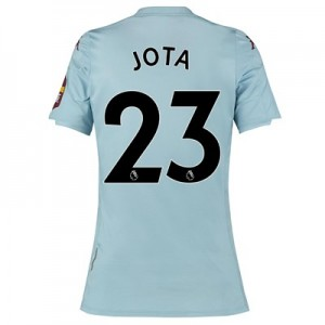 Aston Villa Away Shirt 2019-20 - Womens with Jota 23 printing