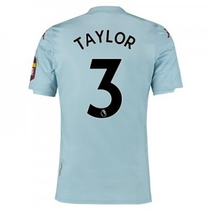 Aston Villa Away Shirt 2019-20 with Taylor 3 printing