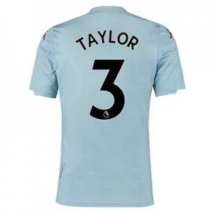 Aston Villa Away Shirt 2019-20 - Kids with Taylor 3 printing
