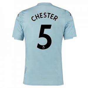 Aston Villa Away Shirt 2019-20 - Kids with Chester 5 printing
