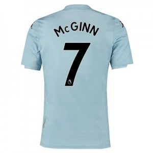 Aston Villa Away Shirt 2019-20 - Kids with McGinn 7 printing