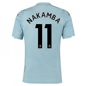 Aston Villa Away Shirt 2019-20 - Kids with Nakamba 11 printing